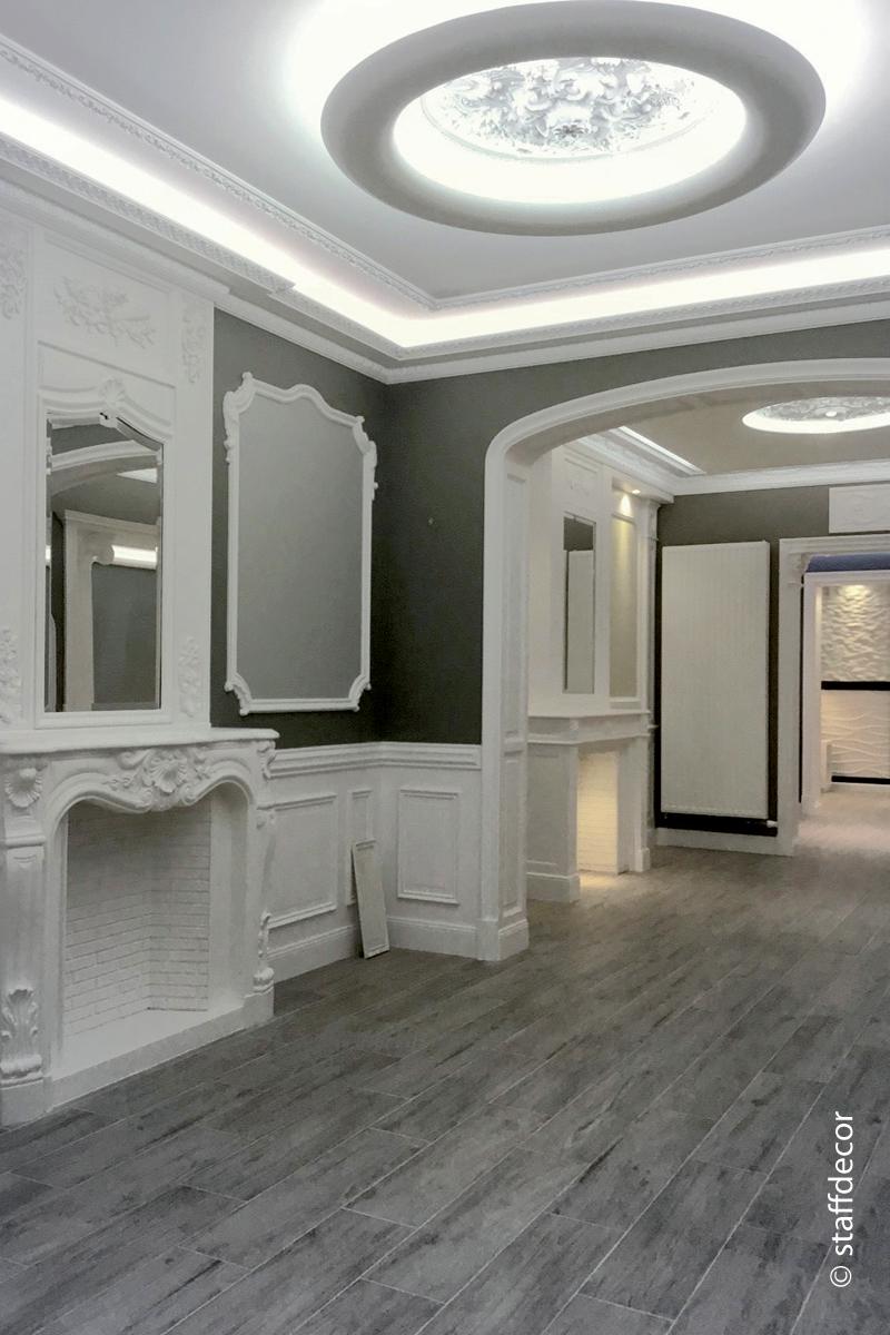 DEKO Pose de faux plafonds et corniches
